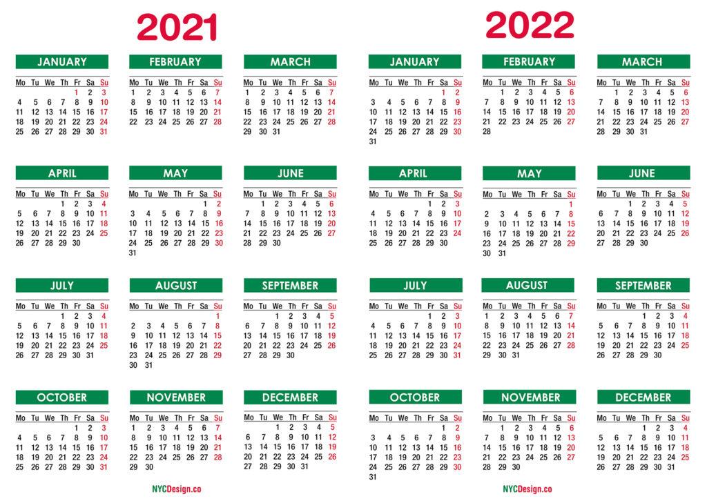 July 4 2022 Calendar.2021 2022 Calendar Nycdesign Co Calendars Printable Free